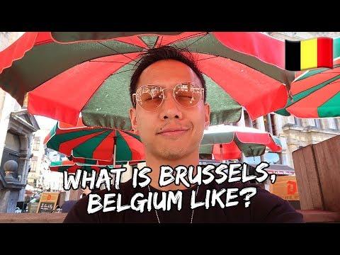 What is Brussels, Belgium Like? | Vlog #564