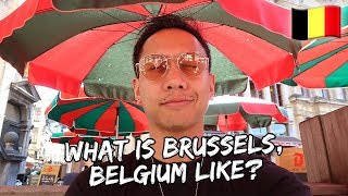 What is Brussels, Belgium Like? | Vlog #564