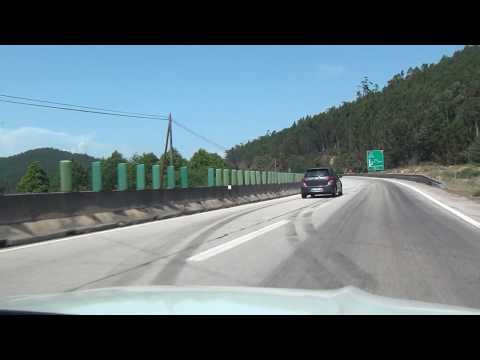 Penacova Almaça Lameiras Tondela IP3 E801 Portugal 25.5.2017 #1242