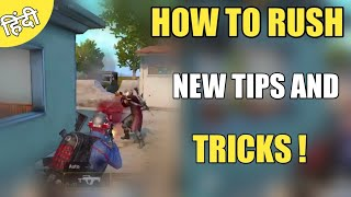How To Rush In Pubg Mobile ! New Tips And Tricks Hindi Pubg Mobile