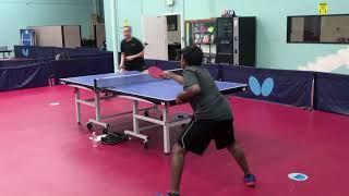Backhand Flip With Jinxin Wang