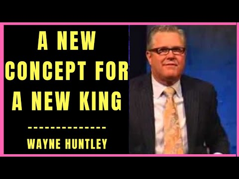 A New Concept for a New King by Wayne Huntley (VIDEO)