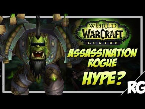 ASSASSINATION ROGUE HYPE?! - Assassination Rogue Arena PvP   WoW Legion [7.0.3]