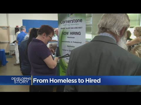 Sacramento Job Fair Connects Homeless, Veterans With Employers