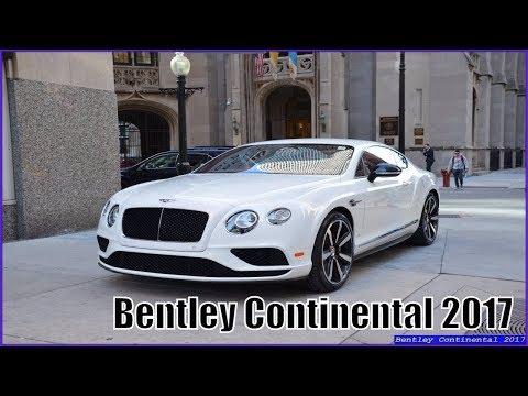 Bentley Continental 2017 GT Sport Review Interior Exterior