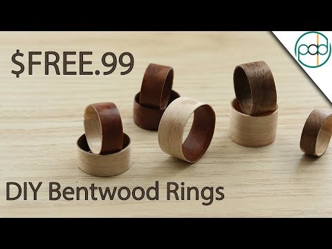 Making a Bentwood Ring - Basic DIY Rings for almost Free