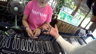 Черный жемчуг в Тайланде ☆ Phuket Pearl Farm