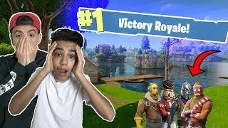 The Most Insane Fortnite Clutch Ever! (Fortnite Battle Royale)