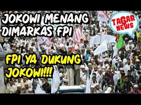 Jokowi Menang di Markas FPI, Taubat Karena Lihat Pak Dhe Masuk Ka'bah
