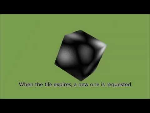Cesium 3D Tiles tile expiration example