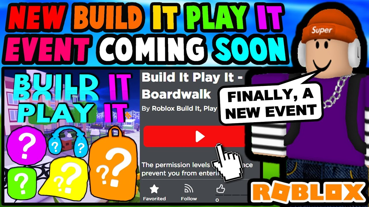 Abandoned Event Series IS COMING BACK! (Roblox Build It Play It)