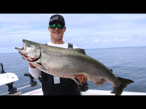 MOOCHING For GIANT KING SALMON In NORTHERN BC