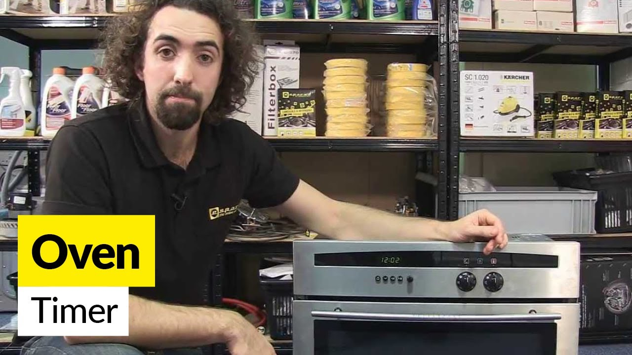 How To Replace An Oven Timer Youtube Circuit Board 33002561 Repaircliniccom