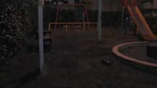 スーパーホーネットの前輪(細幅だけどピンスパイク)をタミヤカスタマ...