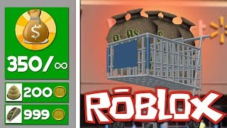 ONEINDIG GELD IN ROBLOX! (ROBLOX SHOPPING SIMULATOR)