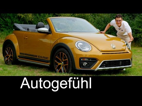 Volkswagen Beetle Dune FULL REVIEW test driven Cabriolet/Convertible 220 hp VW TSI