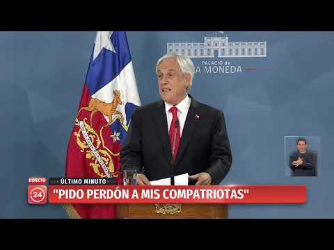 Presidente Piñera pide