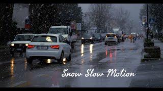 Snow Slow Motion - January 2021