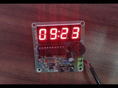 Assembling DIY 4 digit digital Alarm clock