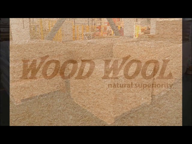 WoodWool WOOD FIBER INSULATING BOARDS