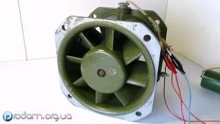 Вентилятор осевой 35 ВО-1,5-1 Вытяжка УАД-52(, 2016-07-13T09:23:33.000Z)