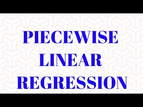 Piecewise Linear Regression | Dummy Variable & Interaction