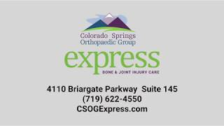 Welcome to Express Bone & Joint Injury Care!