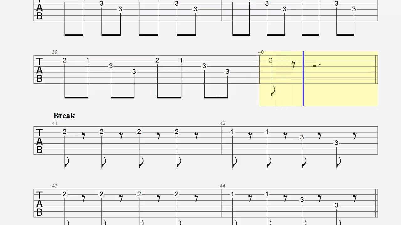 Guitar Tab   Dark Horse   How to Play   Katy Perry   Play Along