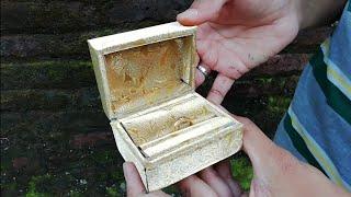 Membuat Kotak Cincin Cantik dari Kardus Bekas