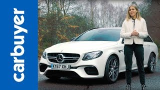 Mercedes-AMG E63 Estate review - behind the wheel of AMG's mega-estate - Nicki Shields - Carbuyer