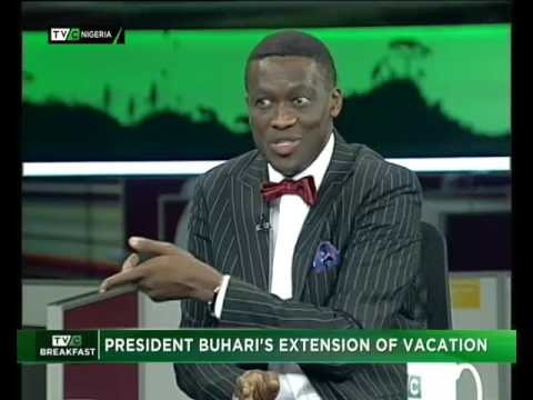 President Buhari's extension of vacation