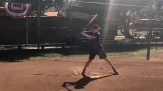 Elijah Newman - Updated Hitting Clips - Class of 2019