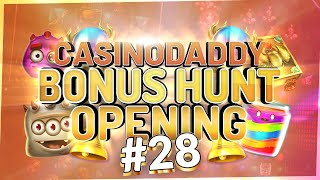 €33000 Bonus Hunt - Casino Bonus opening from Casinodaddy LIVE Stream #28