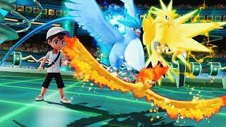 🆕¡El COMBATE LEGENDARIO!⚡❄️🔥 - Pokémon Lets GO - 💥[COMBATES ONLINE]💥