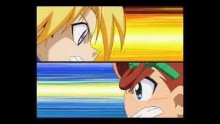 Battle B-daman Japanese - Cain and Joshua Clips RAW 3