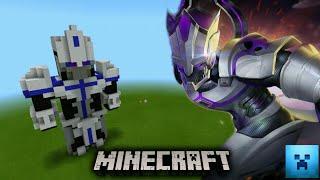 Valhein from block Minecraft | สร้างแวนสกินในตำนานจากบล็อคมายคราฟ [Minecraft Design skin]