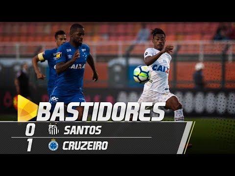Santos 0 x 1 Cruzeiro | BASTIDORES | Brasileirão (27/05/18)