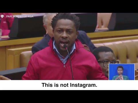 Ndlozi and Malema call Malusi Gigaba