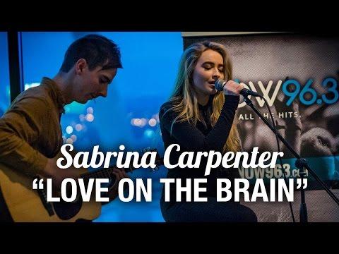 Sabrina Carpenter - Love On The Brain (Rihanna Cover) LIVE Acoustic Performance