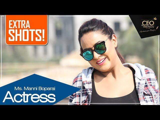 Punjabi Film Star Manni Boparai sends Message to her fans in Punjabi | Extra Shots | CEO & Trends