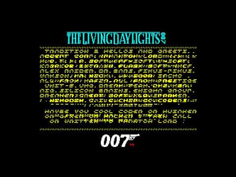 The Living Day Light Crack Intro - Accept Corp [#zx spectrum]
