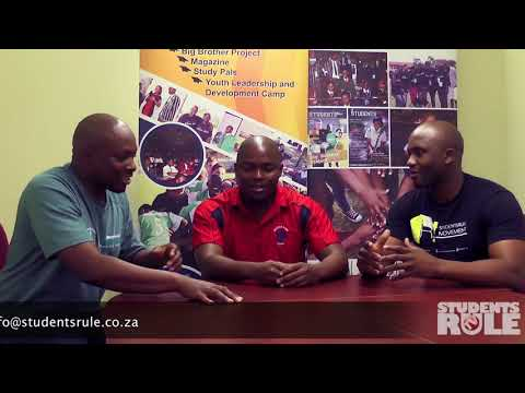 Students Rule Interview of Hudson Park 1st XV rugby coach Lwazi Zangqa (PART 2)