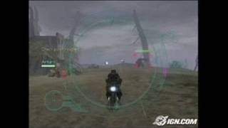 Robotech: Invasion PlayStation 2 Gameplay - Excite bike.