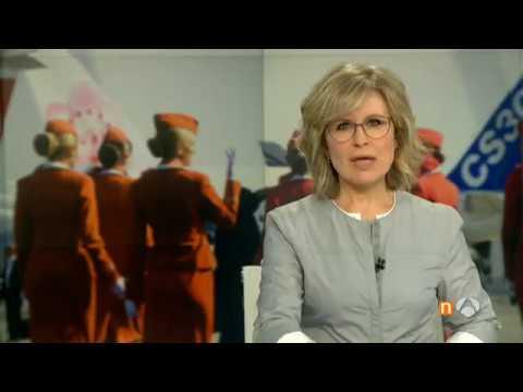 28/04/2017.María Sánchez-Arjona en los Informativos de Antena 3