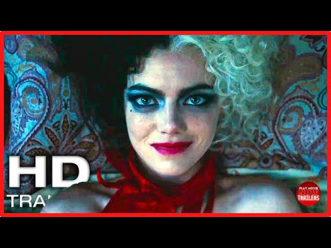 CRUELLA Official Trailer #1 (NEW 2021) Emma Stone, Disney Movie HD | Play Movie NOW Trailers