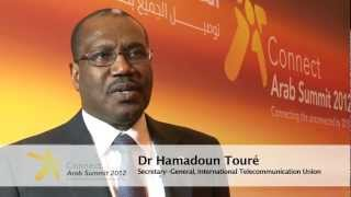 ITU INTERVIEWS @ CAS12: DR HAMADOUN TOURE, Secretary-General, ITU