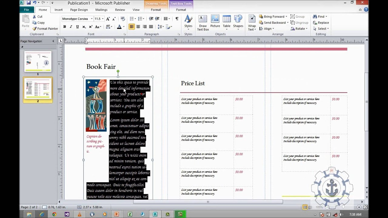 Microsoft Office Publisher 2010 Best Price