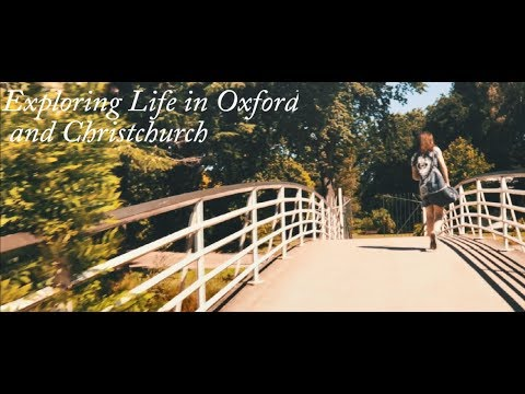 A whole lot Oxford    Christchurch Travel Vlog