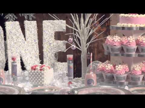 Girl Birthday Party | Pink Winter ONEderland -Shindigz