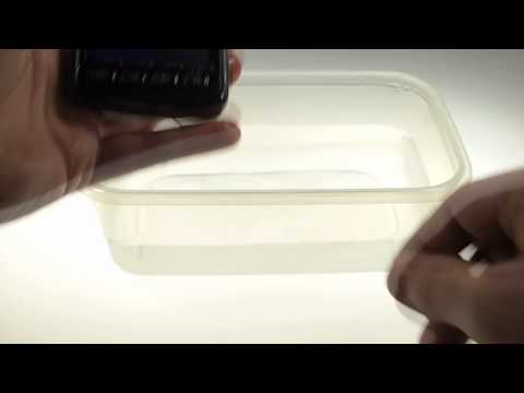 Samsung Rugby Smart water resistance test